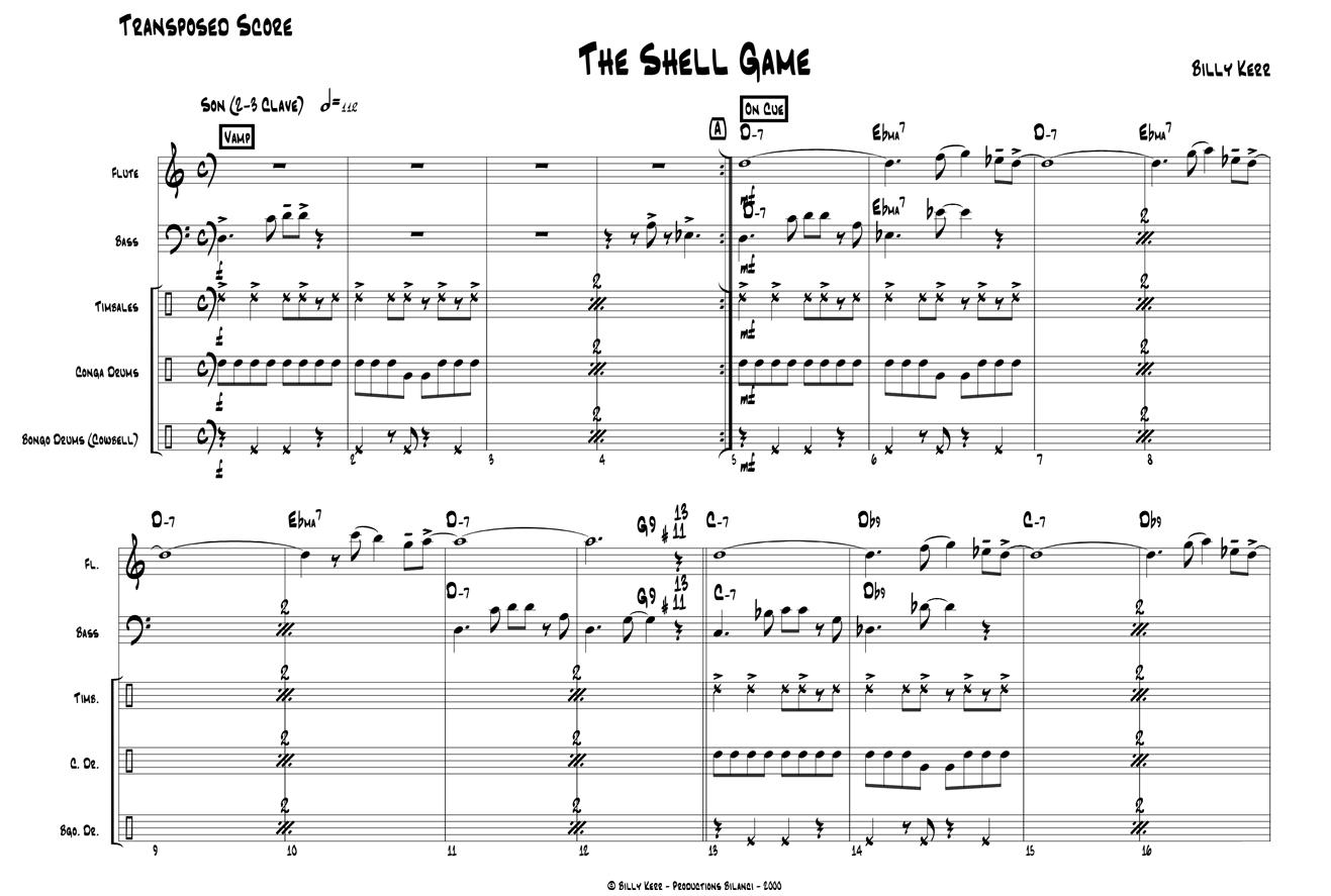Jazz Flute Big Band